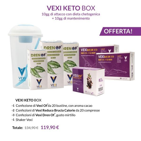 vexi keto box attacco completo 10gg+10gg